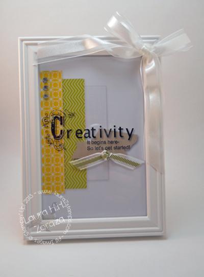 Framed Creativity