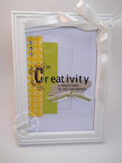 My Digital Hybrid: Framed Creativity