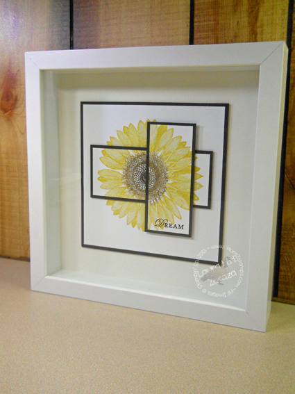Sunflower Large Shadowbox