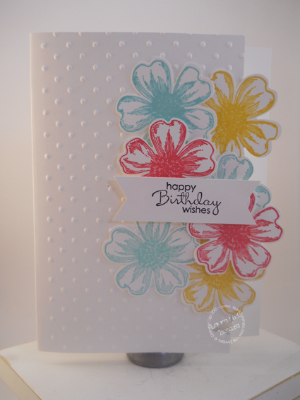 A Floral Birthday Card