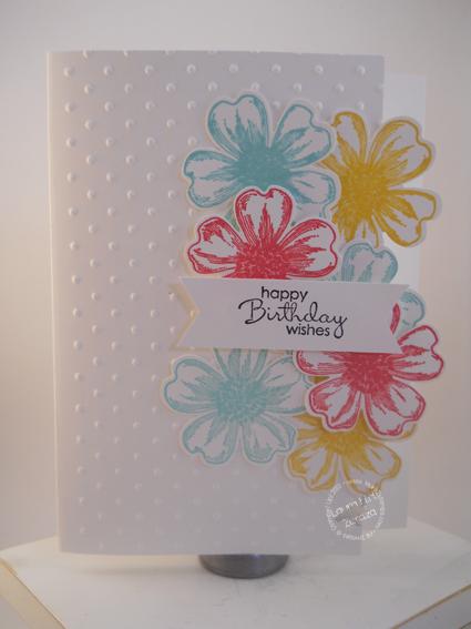 A Floral Birthday Card
