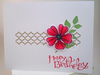 Intense-Pink-Flower-Card