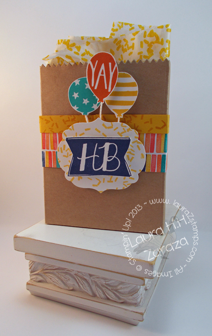 YAY Happy Birthday Bag
