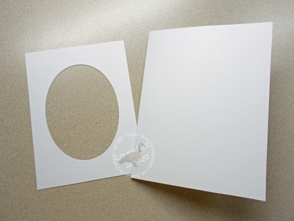 Oval-and-Card