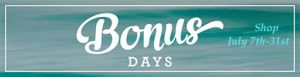 Bonus-day-sign