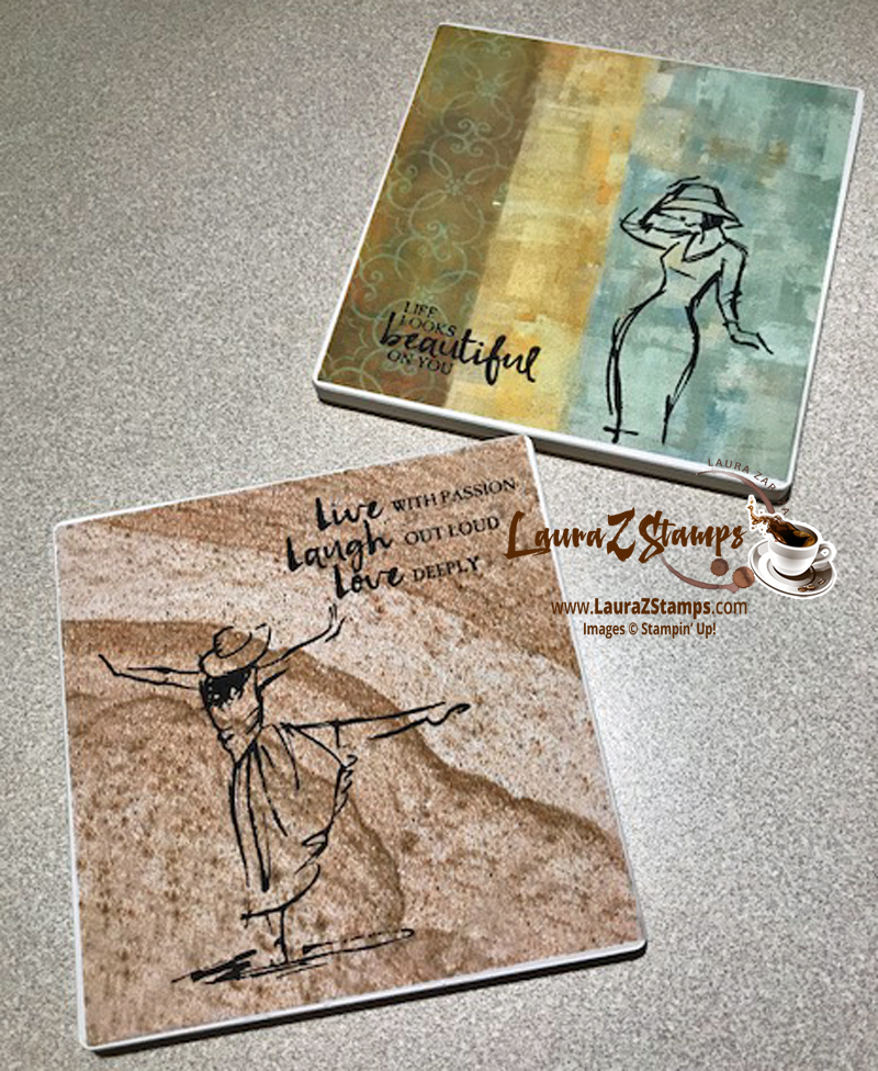 Stamped Coasters